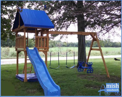 amish swing sets swing sets 187 amish woodwork