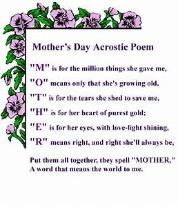 Mothers Day Poem Pictures, Photos, and Images for Facebook ...