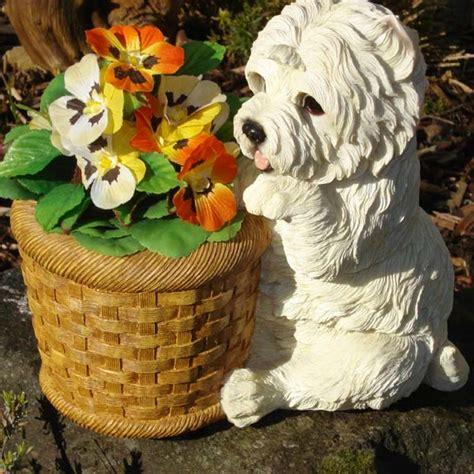 customer reviews  west highland terrier planter