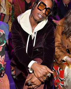 ASAP Rocky Wears Gucci at the Fall/Winter 2017 Milan ...