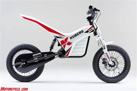 kuberg electric motorcycles for and adults alike