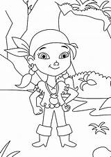 Coloring Pages Pirate Pirates Neverland Izzy Young Jake Printable Team Kidsplaycolor Map Getcolorings Captain Cartoon Gi Popular sketch template