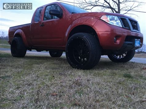 nissan frontier lifted 3 inches wheel offset 2012 nissan frontier super aggressive 3 5