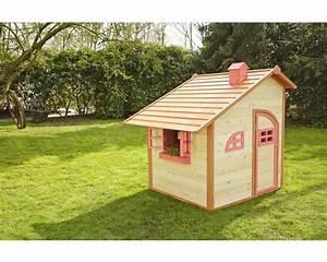 Bauanleitung Spielhaus Holz : spielhaus sun holz natur rot bei hornbach kaufen ~ Michelbontemps.com Haus und Dekorationen