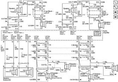02 Silverado Ab Wiring Diagram by 2005 Denali Bose Wiring Oem Nav Input Chevy Tahoe