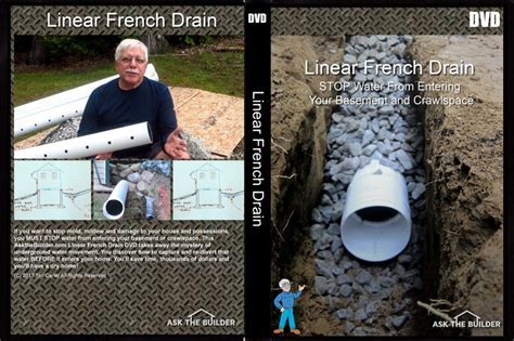 Simple Trench Drain Dries Soil, Basement & Crawlspace
