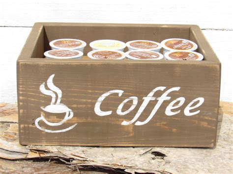 With a little ingenuity, though, you can create storage solutions that are both functional and decorative. Coffee Storage Keurig K Cup Pod Storage Box Container