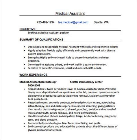what is important in clinical research associate resume