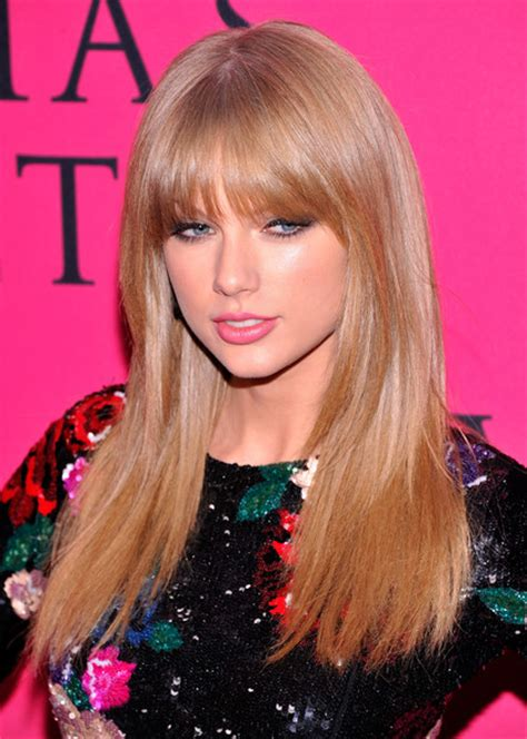 steal  hairstyles taylor swifts bangs pretty designs