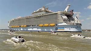 Der Größte Mensch Der Welt 2016 : das ist das gr te kreuzfahrtschiff der welt stapellauf welt ~ Markanthonyermac.com Haus und Dekorationen
