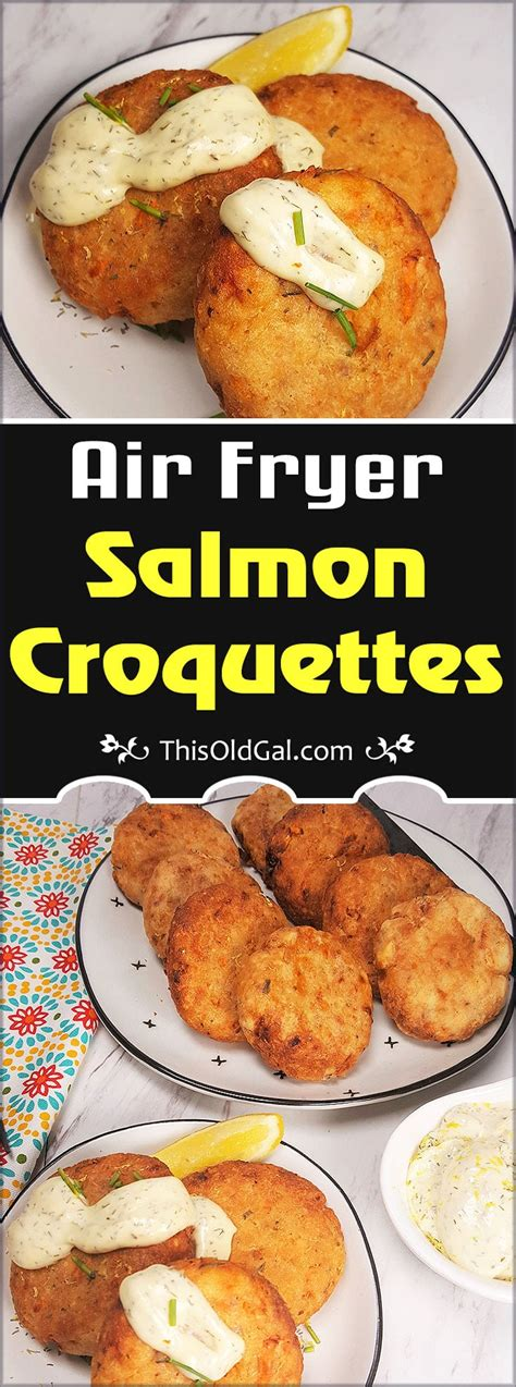 salmon fryer air croquettes recipes crispy fish jewish thisoldgal outside inside oven recipe fried cooking fry creamy moist perfect night