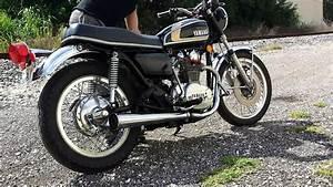 1975 Yamaha Xs650 - Start Up And Walk Around