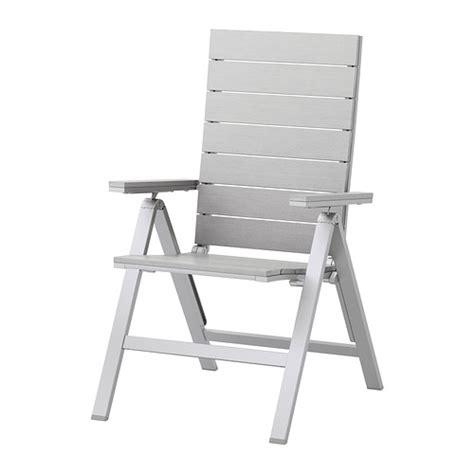 chaise pliable ikea falster chaise dossier réglable extérieur pliable gris
