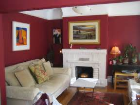Cranberry Bedroom Ideas by White Ceiling Ixed Red Painted Room Wall Combined With