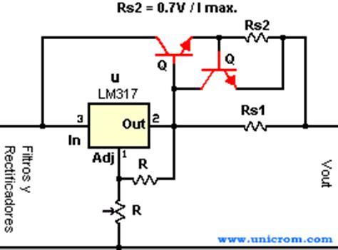 limitador de corriente con transistor de paso ingenier 237 a electr 243 nica todoexpertos