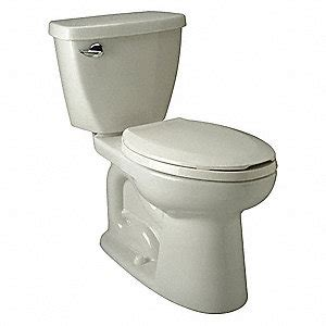 Zurn Ecovantage Two Piece Tank Toilet, 128 Gallons Per