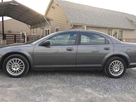 2005 Chrysler Sebring Gas Mileage by Purchase Used 2004 Chrysler Sebring Lx Sedan 4 Door 2 4l