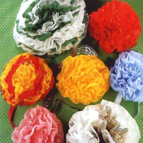 fleur en papier serviette activit 233 s manuelles fleurs en serviettes multicolores fr hellokids