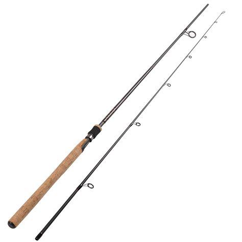 fiblink sea bass fishing rod  piece medium heavy inshore spinning rod fiblink