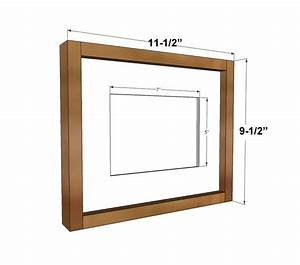 Ana White Build a Simple Wood Gallery Frame Plans Free