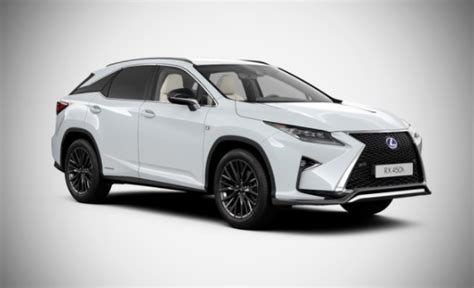 2019 Lexus Suv by 2019 Lexus Rx 450h Suv Colors Release Date Redesign