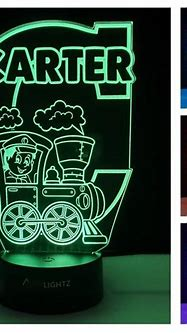 Train Night Light | Night Lights for Babies, Toddlers ...