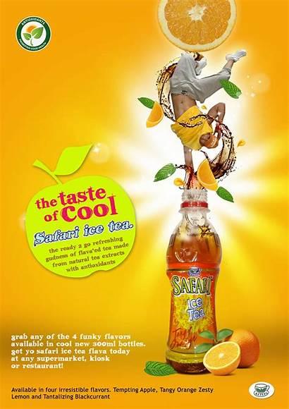 Tea Ad Ice Behance Published