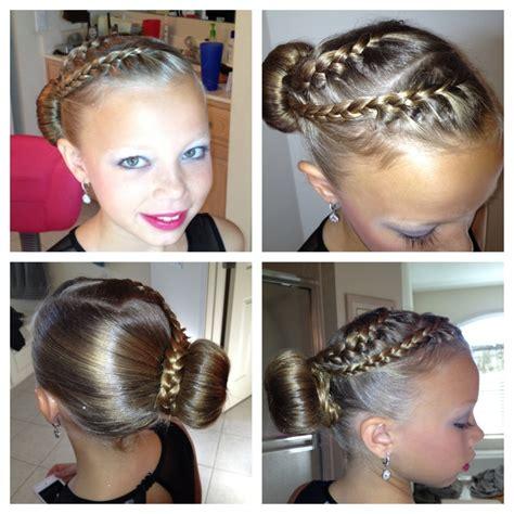 cute hairstyles for ice skating braids into bin figure skating hair joy hair style