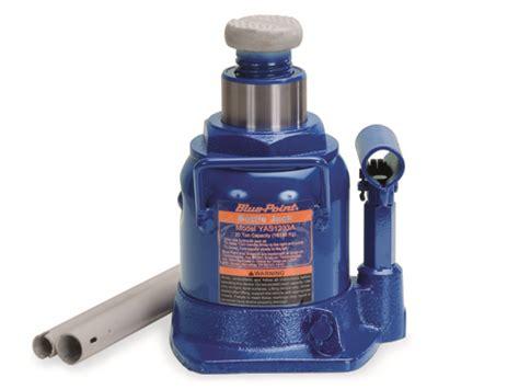 Jack, Hydraulic Bottle, Low Profile, 20-ton (11-1/4