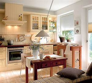 cozy bright kitchen designs adorable home With simple and cozy country kitchen designs