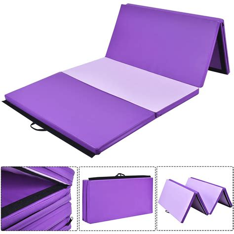 gymnastics mats ebay 4 x8 x2 quot gymnastics mat thick folding panel fitness