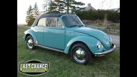classic vw super beetle bug convertible restoration