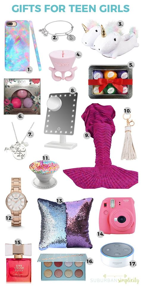 17 Best Gift Ideas For Teen Girls  Gift Guide For Teenage Girls