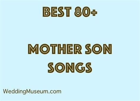 1000+ Ideas About Mother Son Songs On Pinterest