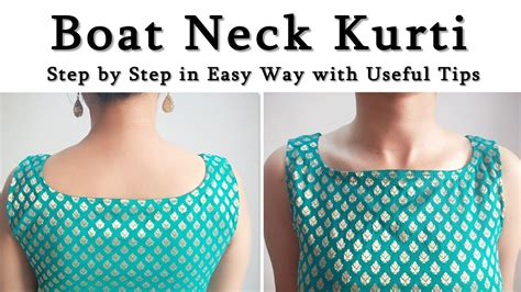 Boat Neck Dress Diy by Diy Boat Neck Kurti Chudidar Top Dresses How To