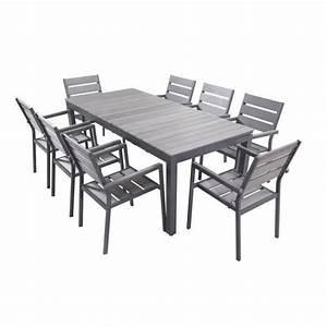 Table Et Chaise Jardin : table chaise de jardin l 39 habis ~ Teatrodelosmanantiales.com Idées de Décoration