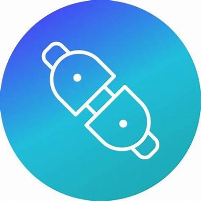Connector Plug Icon Vector Clipart