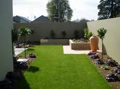 Modern House Beautiful Terrace And Landscape Beautiful Modern Garden Concept Idea With Simple Landscape Design