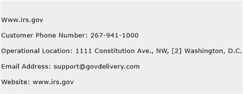 irs customer service phone number www irs gov customer service phone number toll free