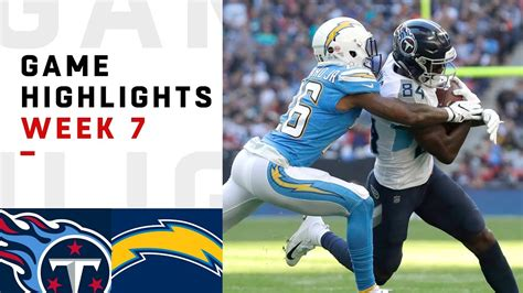 titans  chargers week  highlights nfl   london
