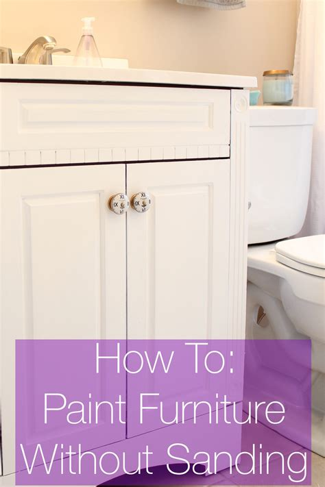 How To Paint Bathroom Cabinets Without Sanding In Wy Deebonk