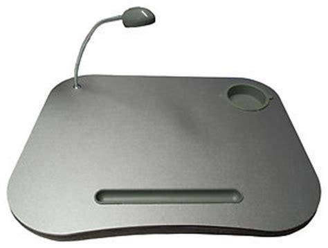 portable laptop cushion lap tray desk reading light table