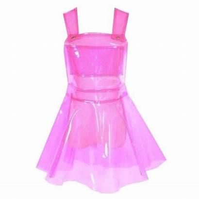 Pvc Clear Latex Pink Transparent Vinyl Plastic