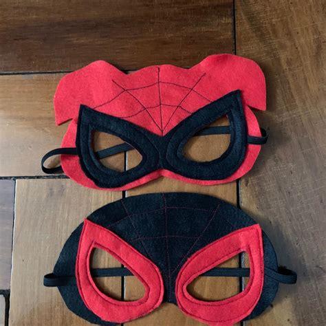 Máscara homem aranha no Elo7 Arte Mimos e Dengos (108CEBD)