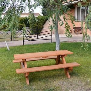 Table Pique Nique Enfant : table pique nique enfant en bois douglas avh bois ~ Dailycaller-alerts.com Idées de Décoration