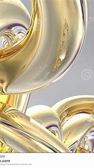 3D Gold Chain stock illustration. Illustration of rings ...