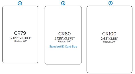 dimensions of standard id cards id wholesaler