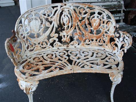 Super Ornate Cast Iron Garden Set For Sale Antiquescom