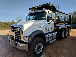2017 Mack GRANITE GU713 Dump Truck For Sale, 18,251 Miles ...