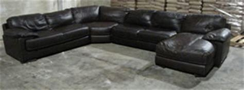 natuzzi cindy crawford home edition brown leather